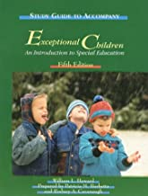 Study Guide to Accompany Exceptional Children: An Introduction to Special Education