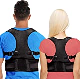 LEOPAX Back Brace Posture Corrector for Men & Women - Adjustable Back Straightener for Posture Correction - Provides Neck, Shoulder, Lower & Upper Back Pain Relief (Large) shoulder and back corrector Apr, 2021