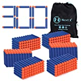 Blaster Darts, NextX 300 Pack Refill Bullets for Nerf N-Strike Elite, Toys Foam Blasters for Boys Party Favors, With Portable Storage Bag
