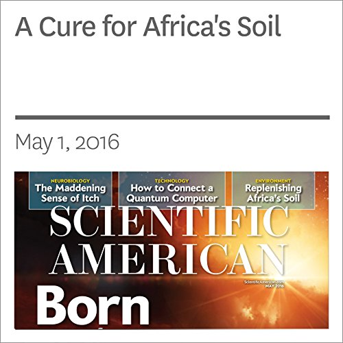A Cure for Africa's Soil audiobook cover art
