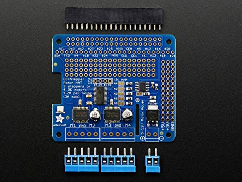 AdaFruit DC Stepper Motor Hat for Raspberry Pi - Mini Kit