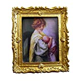 Melody Jane Dolls Houses House Miniature 1:12 Accessory Victorian Mother and Baby Picture Painting
