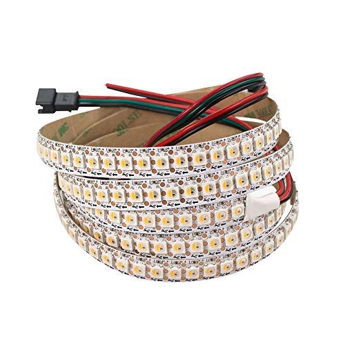 Ws2812b rgbw sk6812 rgbww 5 m 30/60/144 leds ip30/ip65/ip67 tira de LED inteligente, dirigible individualmente, PCB negro/blanco impermeable, Ws2812 RGBW, 5 m, 5 V.,...