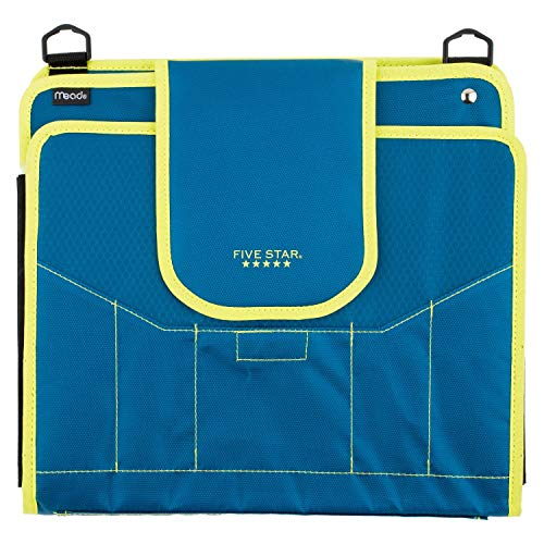 Five Star Sewn Zipper Binder, 2 Inch 3 Ring Binder With 4 Inch Capacity, Assorted Colors, Color Selected For You, 1 Count (28044) Photo #16