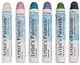 Jack Richeson Shiva Oil Paintstik, Iridescent Fashion Colors, Set of 6