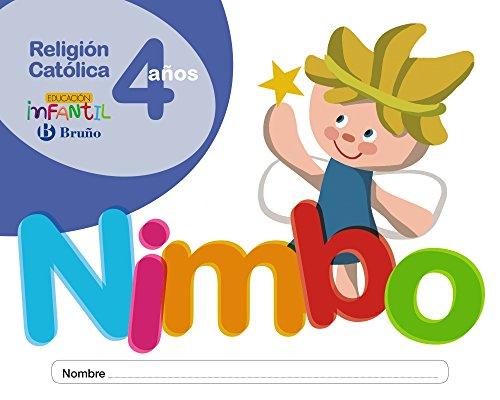 Religión católica Nimbo 4 años - 9788469615812