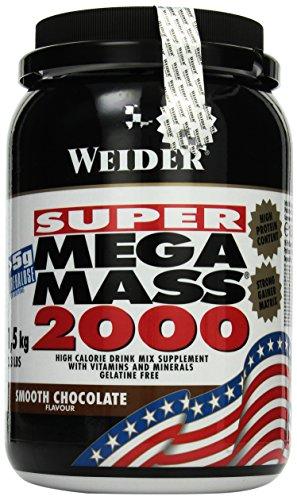 Weider MEGA MASS 2000 1,5 kg, Schokolade