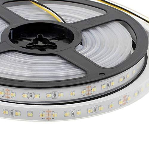 Tira LED Blanco Dual SMD3014, DC24V, 5m (224 Led/m) - IP67, Blanco dual