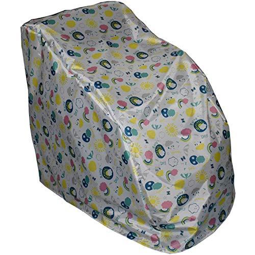 SCAHUN Funda para Silla De Masaje Anti-rasguños Impermeable Proteccion Solar Funda De Silla Paño De Oxford Cubierta 4 Colores,A-105×75×105cm