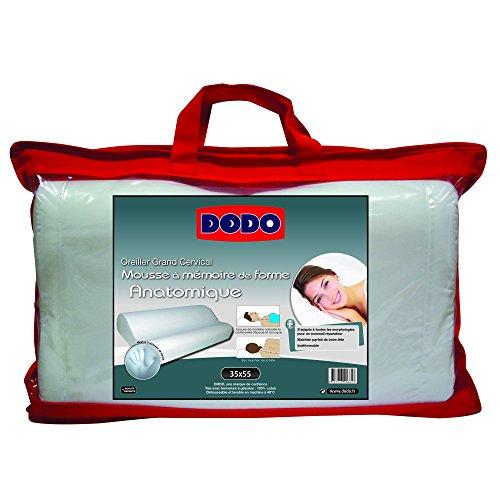 Do Wrap Performance Headwear Dodo Grand Cervical - Almohada para Cuello, Color Blanco