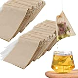 POTUANOT 600 Bolsas de Filtro de té Desechables con Cordón,Bolsa de Infusión...