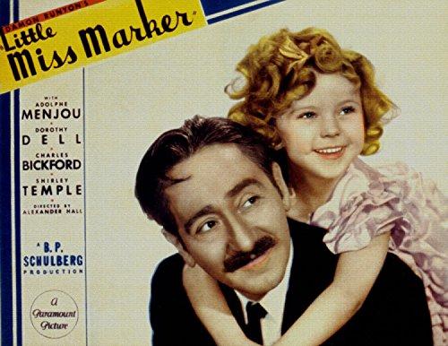 Little Miss Marker, Shirley Temple, 1934 - Foto-Reimpresión película Posters 36x28 pulgadas - sin marco