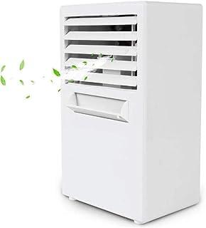 Portable Air Conditioner Fan Personal Mini Air Cooler Humidifier Mini Portable Air Conditioner Table Desk Small Home Offic...