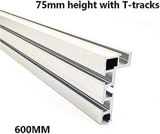 Tope de conducto para bricolaje con ranura en T para tabla de madera Laecabv 45 Tipo T-Tracks T-Tracks