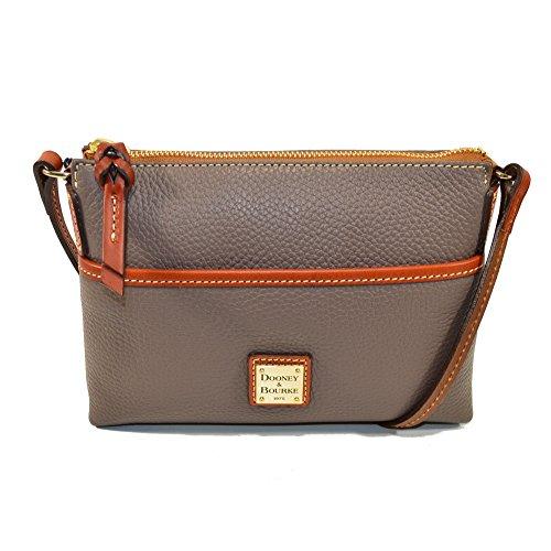 Dooney & Bourke Handtasche aus Saffiano-Leder, Grau (elefant), Einheitsgröße