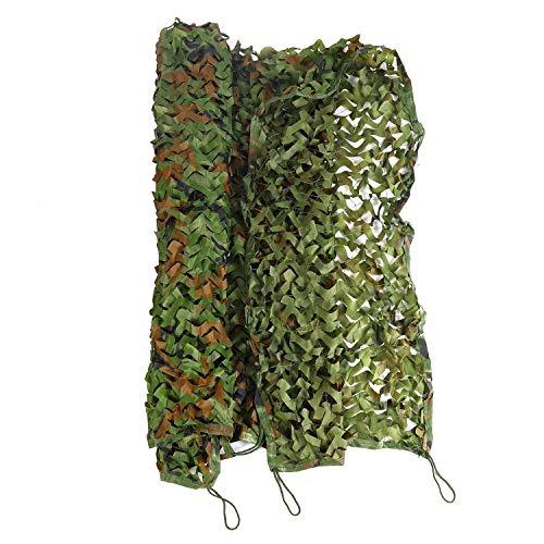 Camouflage multifunctionele zonwering voor outdoor-luifel, camping, schimmel, bergwand, voor outdoor-tent, van Oxford-leer in verschillende maten 3 * 6m
