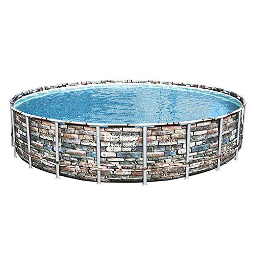 Bestway Piscina Power Steel 6.71m x 1.32m FUORITERRA, Colore