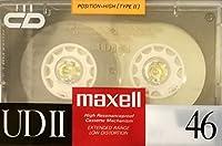 日立マクセル カセットテープ UDII 46分 ハイポジ UDII46(D)
