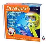 Hydrotac DiveOptx - Lentes de lectura adhesivas extraíbles para...
