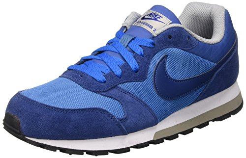Nike Md Runner 2, Herren Gymnastikschuhe, Blau (star blue/coastal blue-wolf grey-white), 39 EU
