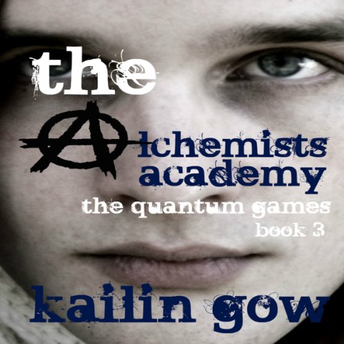 The Quantum Games audiobook cover art