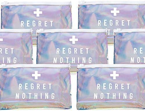 POP FIZZ DESIGNS Bachelorette Party Hangover Makeup Bag 12 Pack Hangover Kit Bag Bachelorette product image