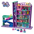 Polly Pocket - Salón Recreativo de Juguete, Mini Muñecas con Accesorios