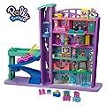Polly Pocket - Salón Recreativo de Juguete, Mini Muñecas con Accesorios