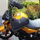 ZYHA Guantes de Manillar protección del Medio Ambiente Guantes para automóviles eléctricos algodón de Invierno batería Motocicleta Protector de Manos Engrosamiento a Prueba de Viento frío