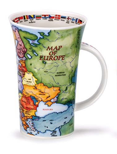 Dunoon Glencoe Map of Europe