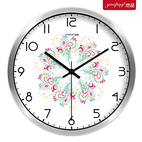 Gyps Horloge Murale Moderne silencieuse Clock Children Wall Clock Horloge de Mur Art Rustique Mur Horloge Salon Moderne Minimaliste créatif Table Cloches décoration Chambre hal