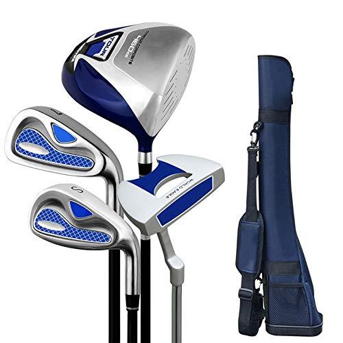 Kuingbhn Golf Putter Semi-Set Pole Exerciser für Herren Golf-Einsteiger-Set Golf Putter Komplettes Golf-Golf-Set für Rechtshänder und Linkshänder (Color : One Color, Size : S6)