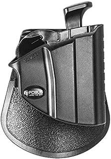 Fobus Roto Level 2 Thumb Holster RH Roto-Paddle & Belt GL2PB Glock 17/19/22/23/31/32/34/35 Level 2 Thumb Lever