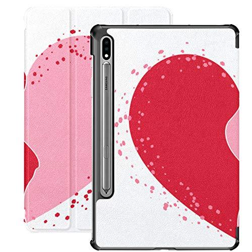 Halves Heart Icon Two Half Puzzle Funda Samsung Galaxy S7 Plus para Samsung Galaxy Tab S7 / s7 Plus Fundas para Samsung Galaxy Tab A Carcasa Trasera con Soporte Funda Galaxy Tab A para Galaxy Tab S7