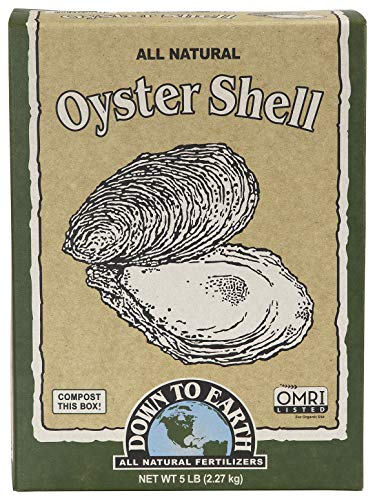 Down to Earth Organic White Oyster Shell OMRI, 5 lb