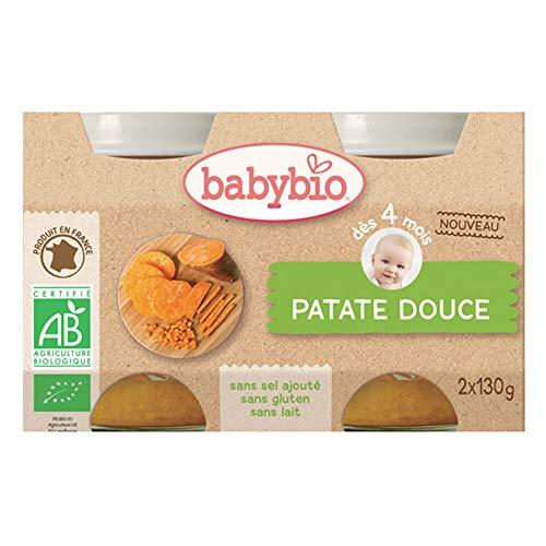 Babybio Petit pot légumes patate douce bio 2x130g