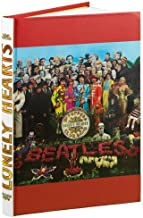 Beatles Sgt. Pepper's Lonely Hearts Club Band Bound Lined Journal 8.5 x 6