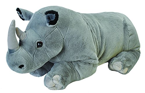 "Wild Republic Jumbo Rhino Plush, Giant Stuffed Animal, Plush Toy, Gifts for Kids, 30"", Model:19330"