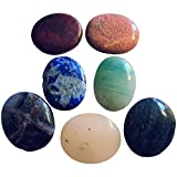 7Chakra piedra ovalada piedra en las Variedades de 7Chakras