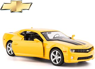 TGRCM-CZ 1:36 Scale Chevrolet Camaro Car Model Kits to Build for Kids,Alloy Pull Back Vehicles Toy Car for Toddlers Kids Boys Girls Gift