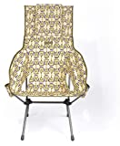 Helinox Savanna Chair,Strandstuhl XL,Campingstuhl,Aluminium,leicht,stabil,faltbar,inkl Tragetasche,Grey,one Size