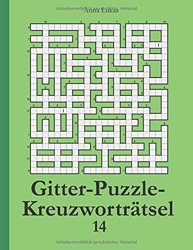 Gitter-Puzzle-Kreuzworträtsel 14