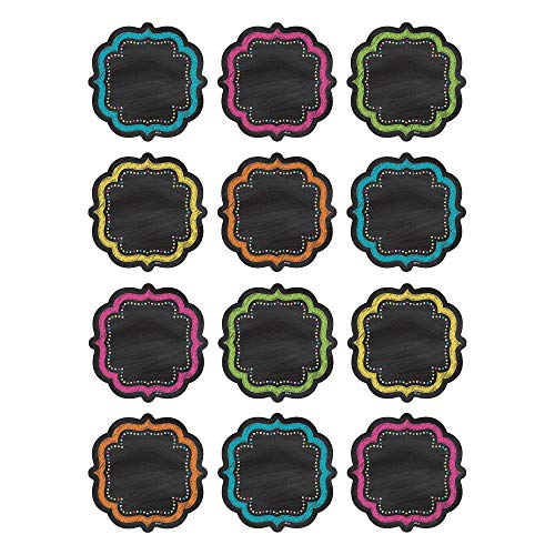 Teacher Created Resources Chalkboard Brights Mini Accents (5620)