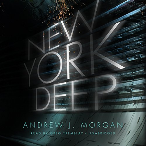 New York Deep audiobook cover art