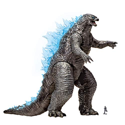 MonsterVerse Godzilla vs Kong 13' Mega Figure - Godzilla with Lights & Sounds