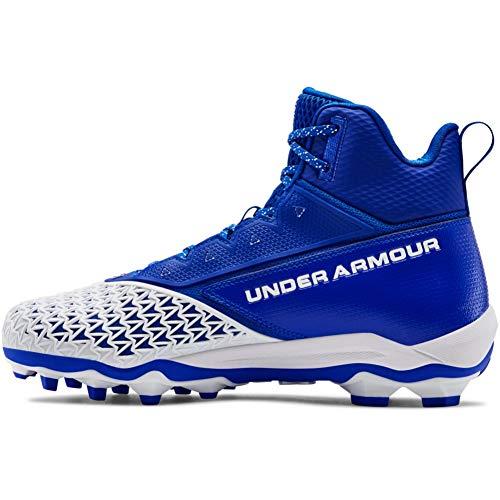 Under Armour mens Hammer Mc Football Shoe, Team Royal (401 White, 12.5 US