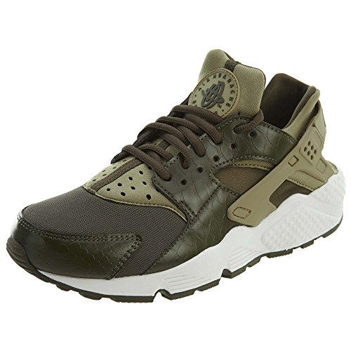 Nike Wmns Air Huarache Run, Zapatillas para Mujer, Verde Neutral Olive Cargo Khaki Summit White 201, 36.5 EU