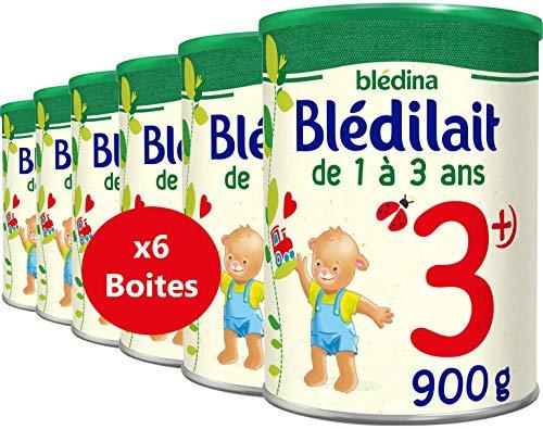 Blédina Blédilait Croissance 3ème âge - Lait en poudre dès 12 mois - type pack ( 6 boîtes de...