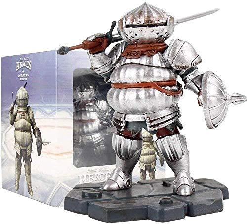 KIJIGHG Anime 10cm Dark Souls Heroes of Lordran Siegmeyer con Figura de Espada PVC Figura de Anime Figuras de accin Modelo de Personaje de Anime