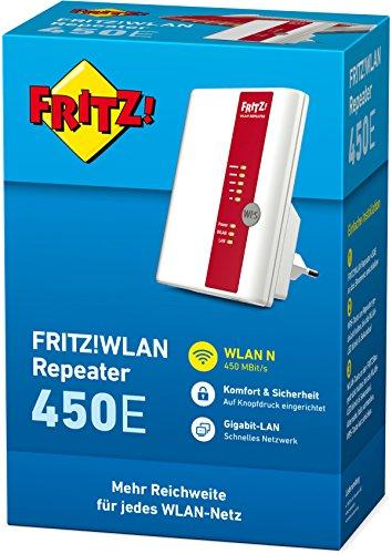 AVM FRITZ!WLAN Repeater 450E (450 MBit/s, Gigabit LAN, WPA2), geeignet für Deutschland - 3